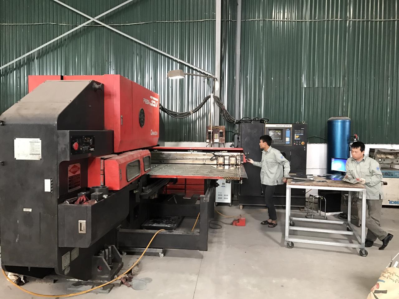 Xưởng sản xuất inox cnc của Inox Tiến Thọ